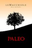 Le Macchiole Paleo Rosso label