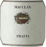 Maculan Fratta label