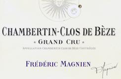 Frédéric Magnien Chambertin Clos de Bèze Grand Cru  label