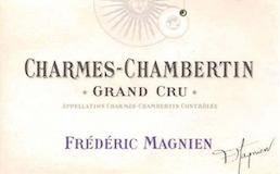 Frédéric Magnien Charmes-Chambertin Grand Cru  label