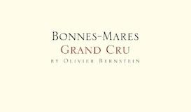 Olivier Bernstein Bonnes-Mares Grand Cru  label