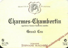 Domaine Stéphane Magnien Charmes-Chambertin Grand Cru  label