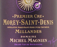 Domaine Michel Magnien Morey-Saint-Denis Premier Cru Les Millandes label
