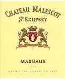Château Malescot Saint-Exupéry  Troisième Cru label