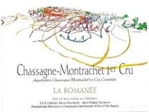 Château de la Maltroye Chassagne-Montrachet Premier Cru La Romanée label