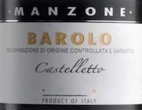 Giovanni Manzone Barolo Castelletto label