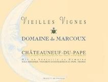 Domaine de Marcoux Châteauneuf-du-Pape Vieilles Vignes label