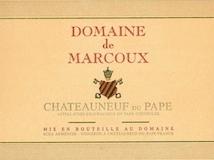 Domaine de Marcoux Châteauneuf-du-Pape  label