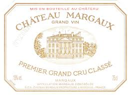 Château Margaux  Premier Cru label