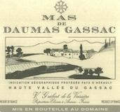 Mas de Daumas Gassac Rouge label