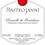 Mastrojanni Brunello di Montalcino  label