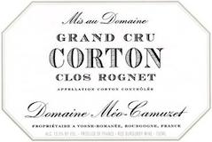 Domaine Méo-Camuzet Corton Grand Cru Clos Rognet label