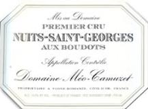 Domaine Méo-Camuzet Nuits-Saint-Georges Premier Cru Les Boudots label
