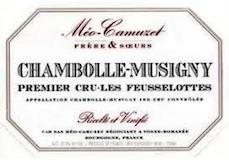 Domaine Méo-Camuzet Chambolle-Musigny Premier Cru Les Feusselottes label