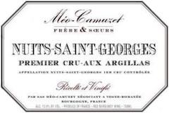Domaine Méo-Camuzet Nuits-Saint-Georges Premier Cru Aux Argillas label