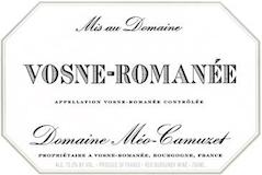 Domaine Méo-Camuzet Vosne-Romanée  label