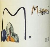Miani Merlot Filip label