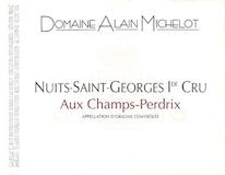 Domaine Alain Michelot Nuits-Saint-Georges Premier Cru Aux Champs Perdrix label