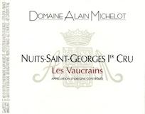 Domaine Alain Michelot Nuits-Saint-Georges Premier Cru Les Vaucrains label
