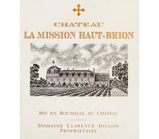 Château La Mission Haut-Brion  Cru Classé de Graves label