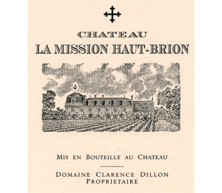 Château La Mission Haut-Brion Blanc (formerly Laville Haut-Brion) label