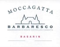 Moccagatta Barbaresco Basarin label
