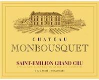 Château Monbousquet  Grand Cru Classé label