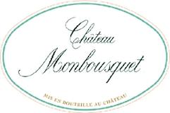 Château Monbousquet Blanc label
