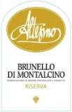 Altesino Brunello di Montalcino  Riserva label