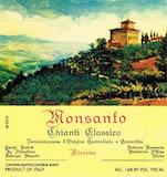 Castello di Monsanto Chianti Classico Il Poggio Riserva label
