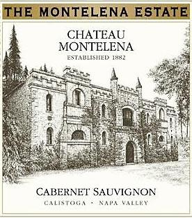 Chateau Montelena The Montelena Estate Cabernet Sauvignon label
