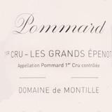 Domaine de Montille Pommard Premier Cru Les Grands Epenots label