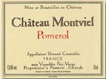 Château Montviel  label