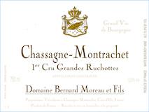 Domaine Bernard Moreau et Fils Chassagne-Montrachet Premier Cru Grandes Ruchottes label