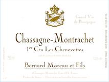 Domaine Bernard Moreau et Fils Chassagne-Montrachet Premier Cru Les Chenevottes label