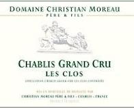 Domaine Christian Moreau Père et Fils Chablis Grand Cru Les Clos label