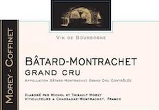 Domaine Morey Coffinet Bâtard-Montrachet Grand Cru  label