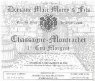 Domaine Marc Morey et Fils Chassagne-Montrachet Premier Cru Morgeot label