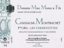 Domaine Marc Morey et Fils Chassagne-Montrachet Premier Cru Les Chenevottes label