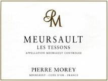 Domaine Pierre Morey Meursault Les Tessons label