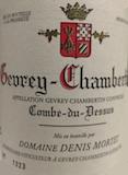 Domaine Denis Mortet Gevrey-Chambertin Combe-du-Dessus label