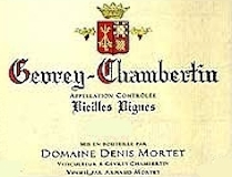 Domaine Denis Mortet Gevrey-Chambertin Vieilles vignes label