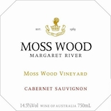 Moss Wood Cabernet Sauvignon label