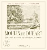Château Duhart-Milon Moulin de Duhart label