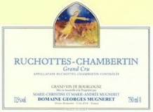 Domaine Georges Mugneret-Gibourg Ruchottes-Chambertin Grand Cru  label