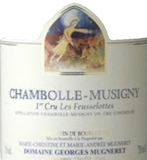 Domaine Georges Mugneret-Gibourg Chambolle-Musigny Premier Cru Les Feusselottes label