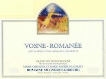 Domaine Georges Mugneret-Gibourg Vosne-Romanée  label