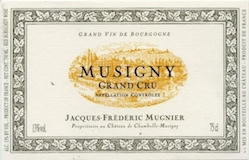 Domaine Jacques-Frédéric Mugnier Musigny Grand Cru  label