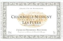 Domaine Jacques-Frédéric Mugnier Chambolle-Musigny Premier Cru Les Fuées label