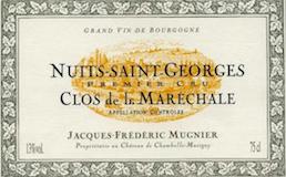 Domaine Jacques-Frédéric Mugnier Nuits-Saint-Georges Premier Cru Clos de la Maréchale label